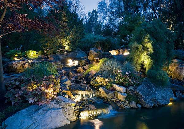 Sound Irrigation Lighting